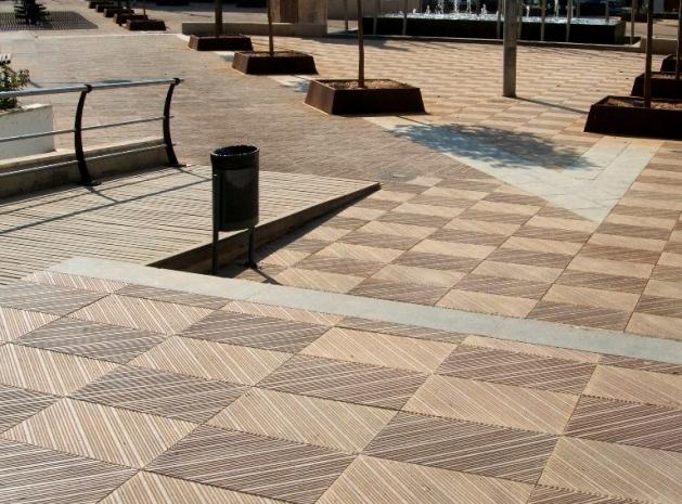 Pavimento flotante exterior simple sa suelos en contacto - Pavimento terraza exterior ...